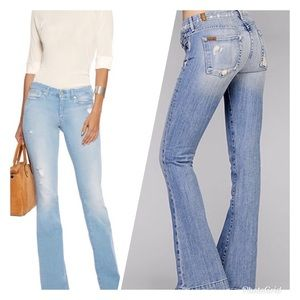 7 For All Mankind Jiselle Flare Jeans Size 25